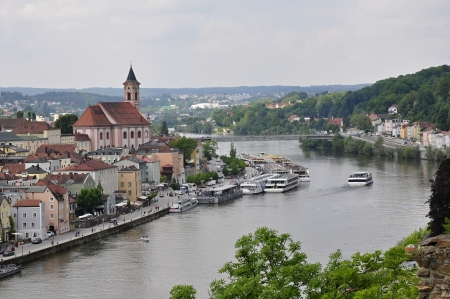 Passau, the river