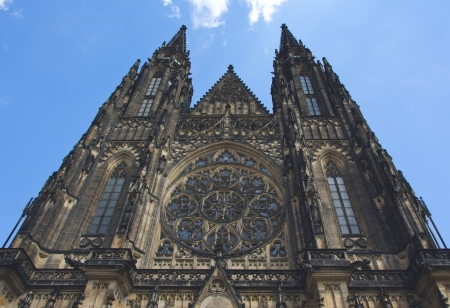 Saint Vitas cathedral photo