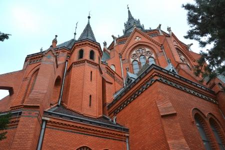 Church Breclav - Navstiveni pany Marie  saint Merry visit  Stock Photo