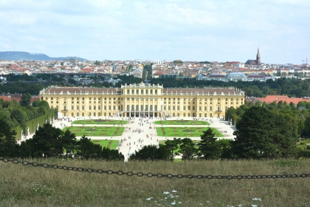nbrunn: Schonbrunn castle Editorial