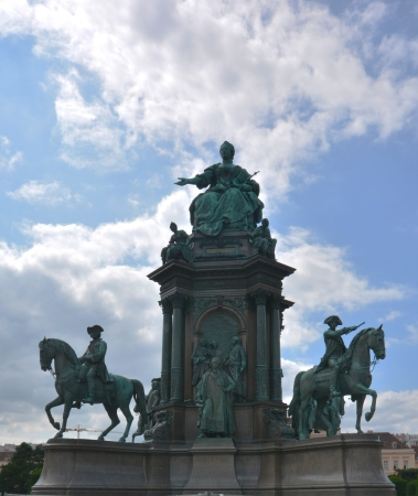 Sculptures and monumens in Vienna photo