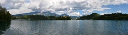 bled: Lake Bled panorama