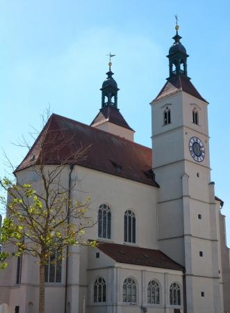 protestant: Regensburg protestant church