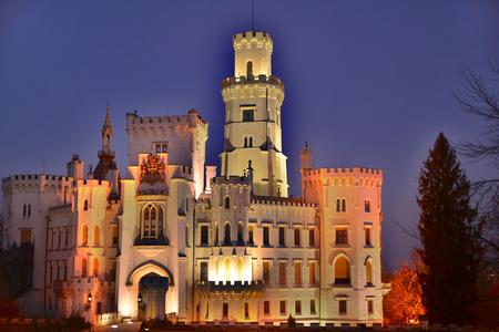 nad': Castle Hluboka nad Vltavou