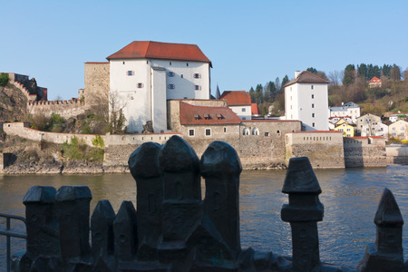 Veste Oberhaus, castle in Passau, Germany photo