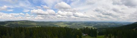 lipno: Lipno, panoramatic view Stock Photo
