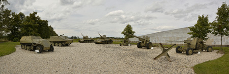 II. War museum and moinument at Hrabyne, Czech republic