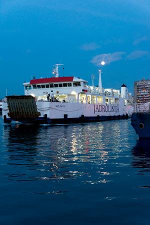 Jadrolinja ship, Zadar