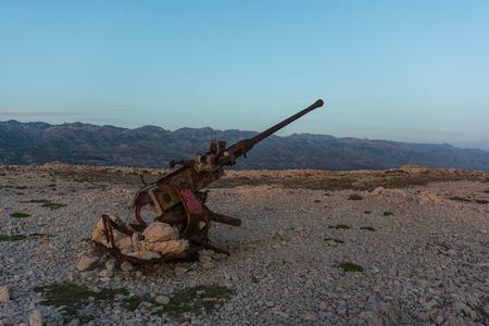 Cannon near Pag bridge photo