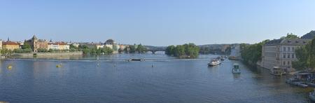 vltava: Vltava river from Charles bridge