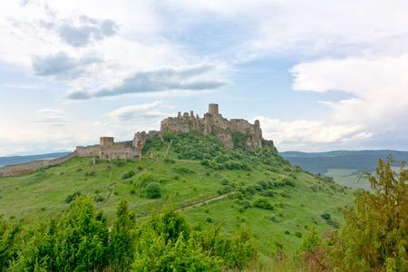 pat: Pat castle - UNESCO heritage in Slovakia Stock Photo