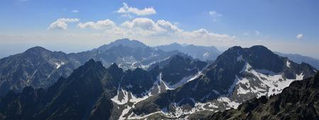 tatras tatry: Vysoke Tatry High Tatras panorama view