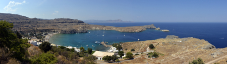 Lindos city, Rhodes