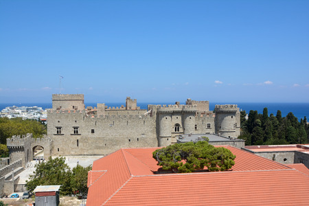 Ancient part of city Rhodos (Rhodes)