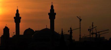 Amman Abdali silhouette photo