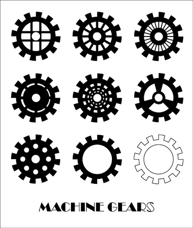 Machine Gear Wheel Cogwheel