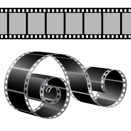 reel to reel: Film strip vector template