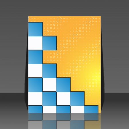 wawe: Seamless blocks vector background