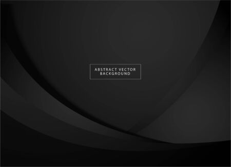 Elegant black grey background with abstract shape. Perfect for wallpaper, backdrop, game background, sport background, promotion, web banner