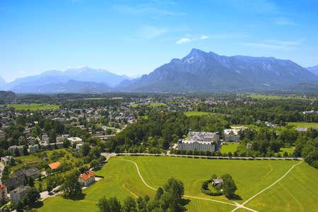 salzburg: Salzburg province viewed from the Hohensalzburg Fortress, Austria