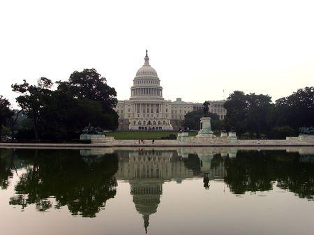 lawmaking: The Capitol Building Washington DC...
