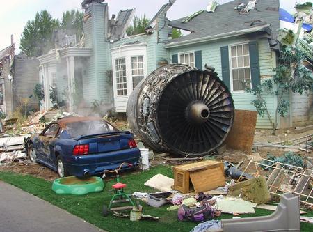 End of the world destruction, Armageddon Stock Photo - 1590917