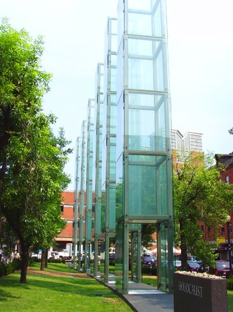 nazism: Jewish Glass Holocaust Memorial, Boston Editorial