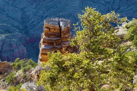 Desert View Watchtower in Grand Canyon , Arizona , America Stock Photo - 15833844