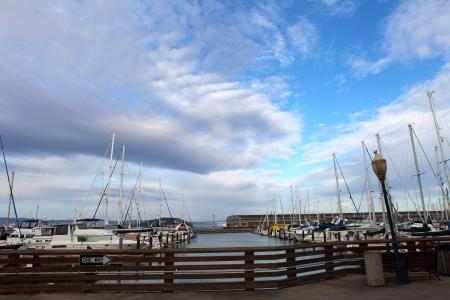 Fisherman s Wharf is a neighborhood in San Francisco, California, U S   photo