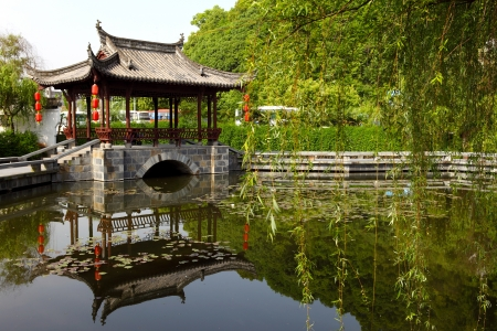 Chinese gardens Stock Photo - 16213515