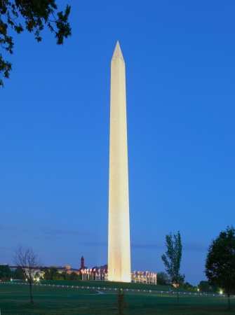 Washington Monument in Washington DC  photo