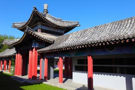 etiquette voyage: La scène de la voûte en Chine Éditoriale