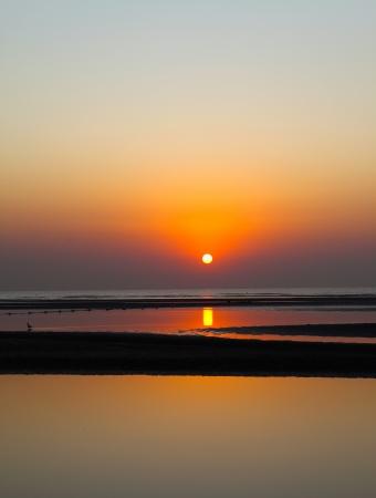 Sunrise Beach Standard-Bild