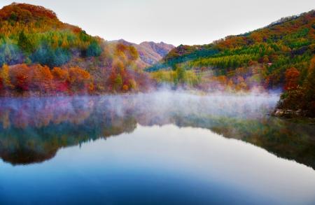 See und Berg Reflexionen