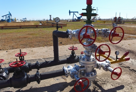 production wellhead  photo