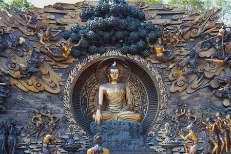 Golden Buddha Image photo