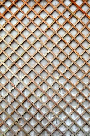 The lattice of the old strips in the background  Stock Photo - 16876734