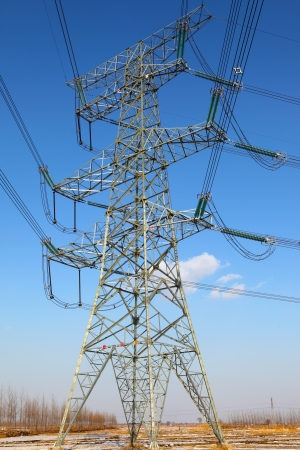 High-tension line Stock Photo - 16905696