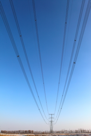 High-tension line photo