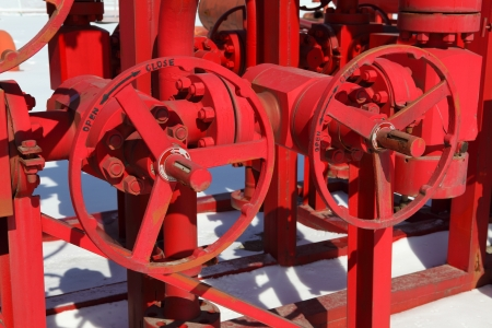 Red valves Stock Photo - 17232628