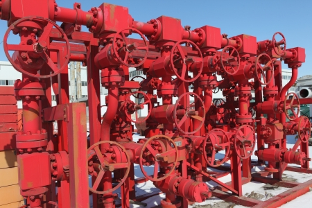 Red valves Stock Photo - 17232858