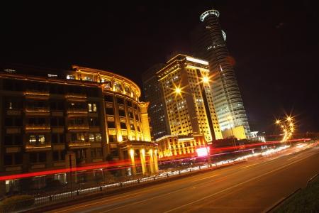 Night view of Xiamen city Stock Photo - 17376287