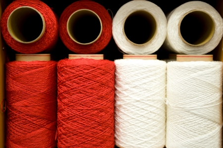colorful bobbins with the place for your text Stock Photo - 17375986
