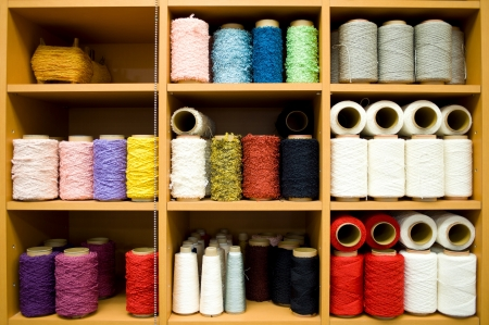 colorful bobbins with the place for your text  Stock Photo - 17376006