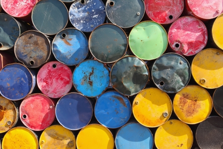 oil barrels  Stock Photo - 17630990