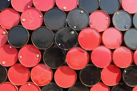oil barrels  photo