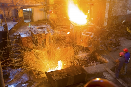 Iron and steel industry  Stock Photo - 18431663