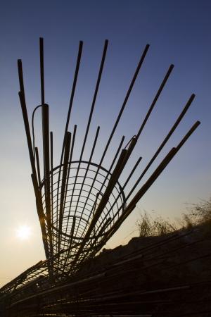 steel rod for construction job Stock Photo - 18435504