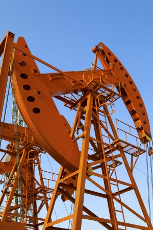 Oil pumps  Oil industry equipment Stock Photo - 18433591