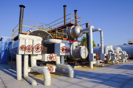 oil and gas processing plant Stock Photo - 18702255
